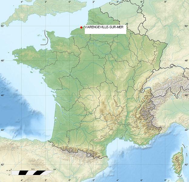 varengeville sur mer al mapa
