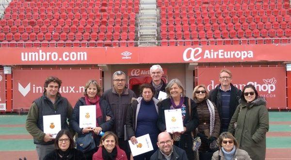 COGTIB - Visita a Son Moix, Reial Mallorca